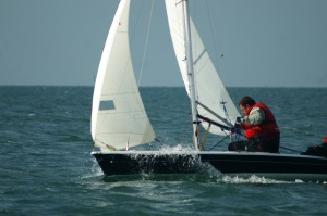 Sailing in Seaford Bay 21st September 2014