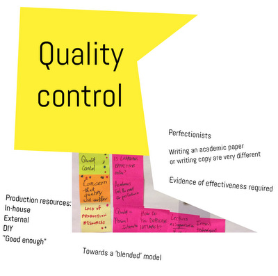LearningOnline2016QualityControl